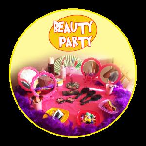 Festa a tema beauty party