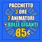 Pacchetto Festa XLARGE+Bolle