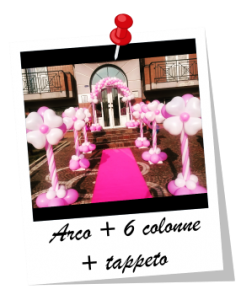 Arco + 2 colonne ad elio
