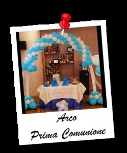 arco comunione allestimento addobbo feste