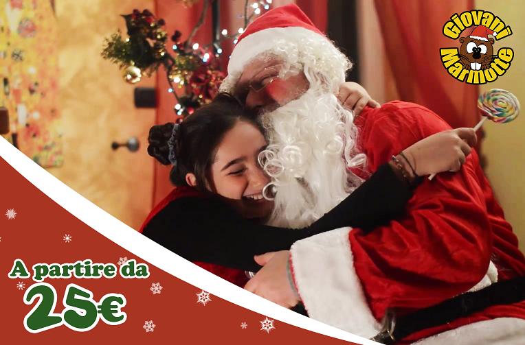 Babbo Natale A Domicilio.Babbo Natale A Casa Tua Giovani Marmotte Animazione