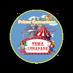 Prima comunione a tema Luna Park