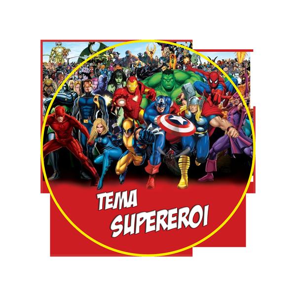 festa tema supereroi napoli