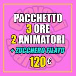 Pacchetto Festa XL+Zucchero Filato